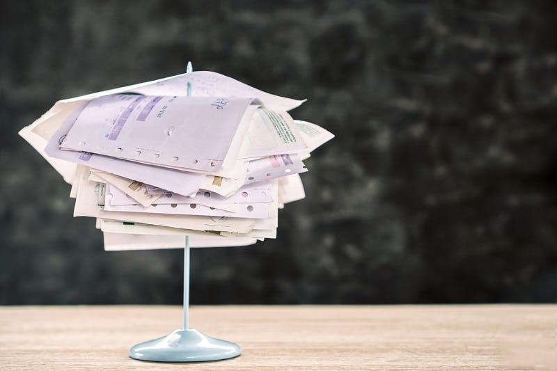Vários boletos para renegociação de dívidas Itaú