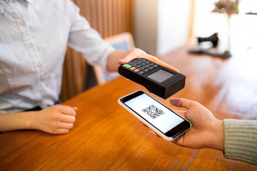 Executando o pagamento pelo celular com o QR Code