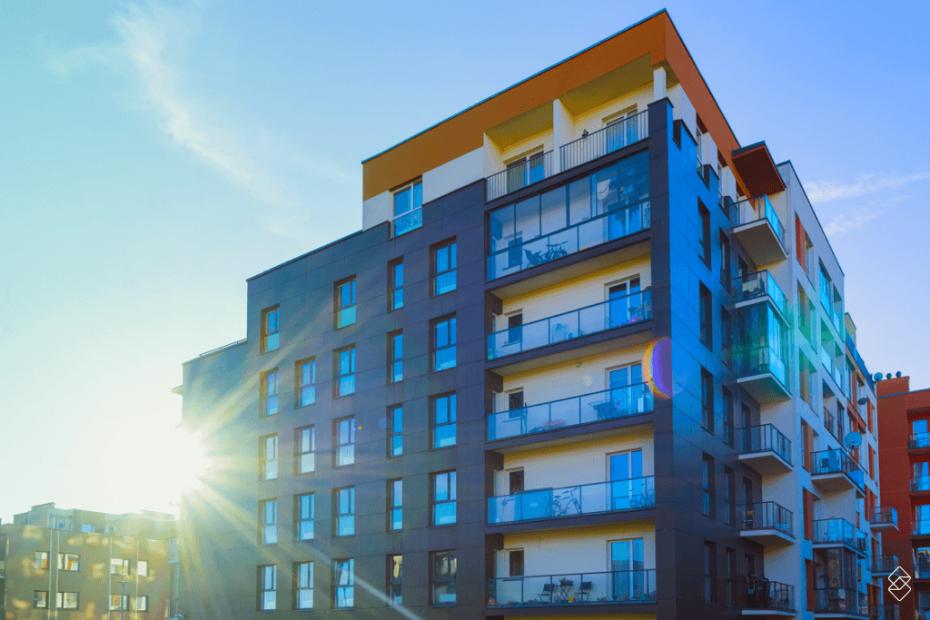 um apartamento residencial, exemplo do que são bens imóveis