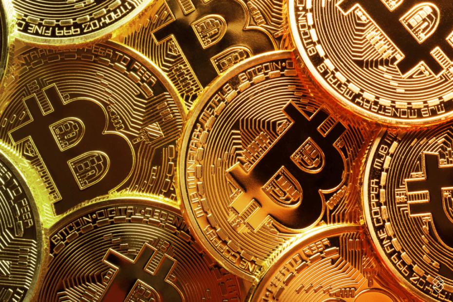 moedas com símbolo de bitcoin